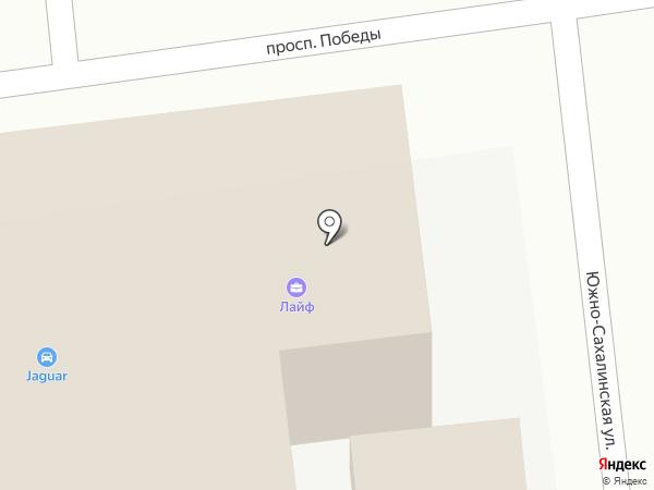 Ягуар-сервис на карте Южно-Сахалинска