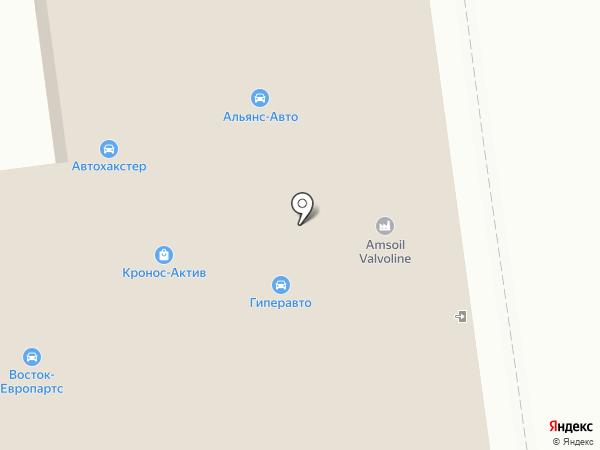ВОСТОК-ЕВРОПАРТС на карте Южно-Сахалинска