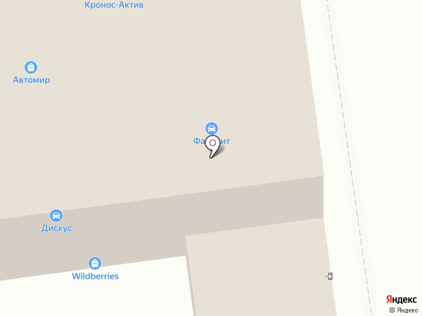 АвтоКот на карте Южно-Сахалинска