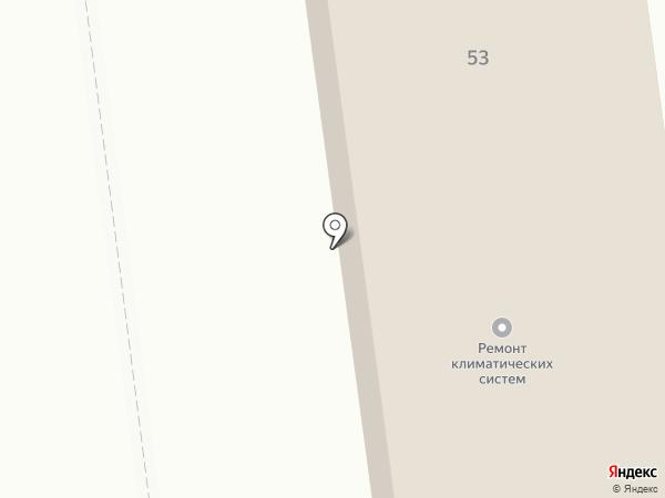АТС-71 на карте Южно-Сахалинска