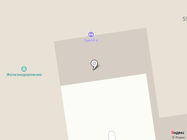 Ретро-клуб на карте Южно-Сахалинска
