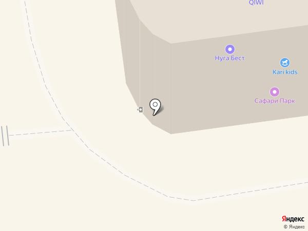Mini Maxi на карте Южно-Сахалинска
