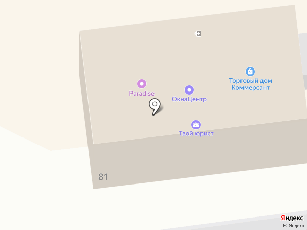 Дружина на карте Южно-Сахалинска