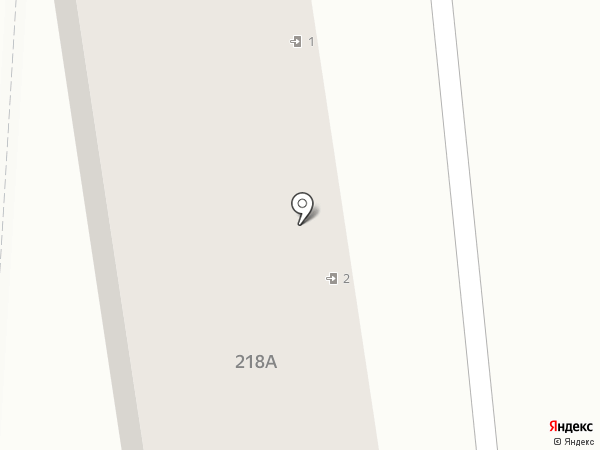 Рябинка, ТСЖ на карте Южно-Сахалинска