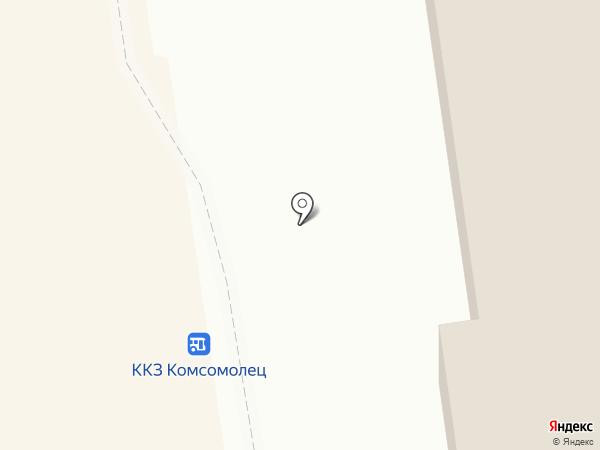 Ключ на карте Южно-Сахалинска