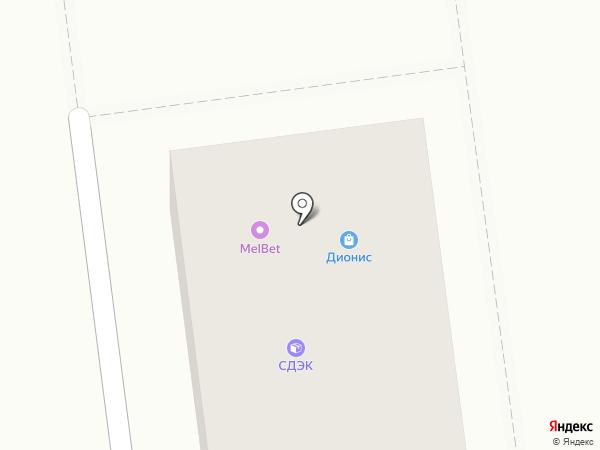 MelBet на карте Южно-Сахалинска