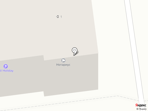 Вип студио на карте Южно-Сахалинска
