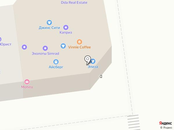 Точка24 на карте Южно-Сахалинска