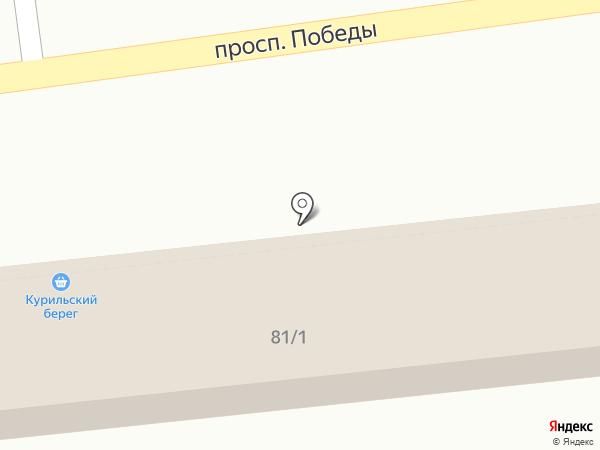 Подворье на карте Южно-Сахалинска