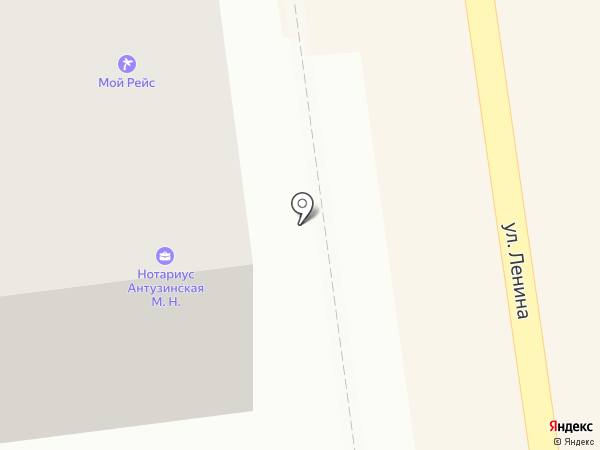 Нотариус Антузинская М.Н. на карте Южно-Сахалинска