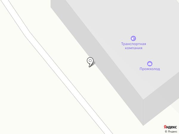 Транзит-ДВ на карте Южно-Сахалинска
