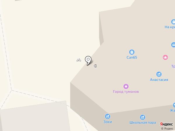 Ювелирная мастерская на карте Южно-Сахалинска