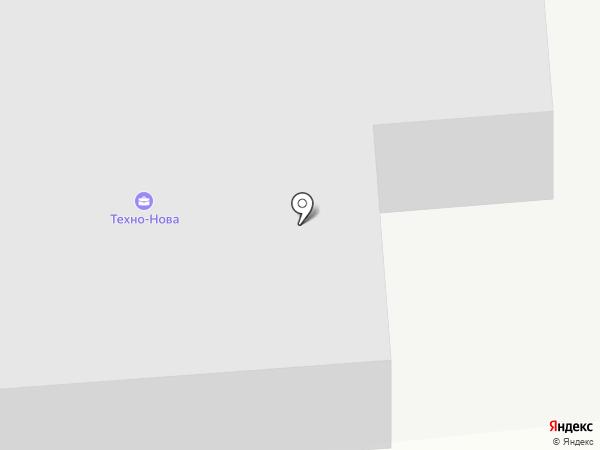 Техно-Нова на карте Южно-Сахалинска
