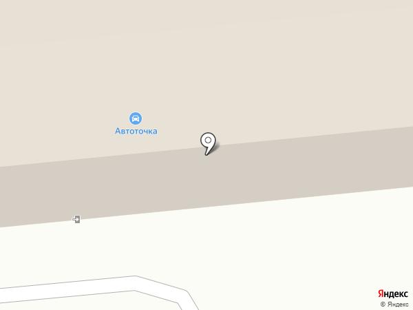 Виадук на карте Южно-Сахалинска
