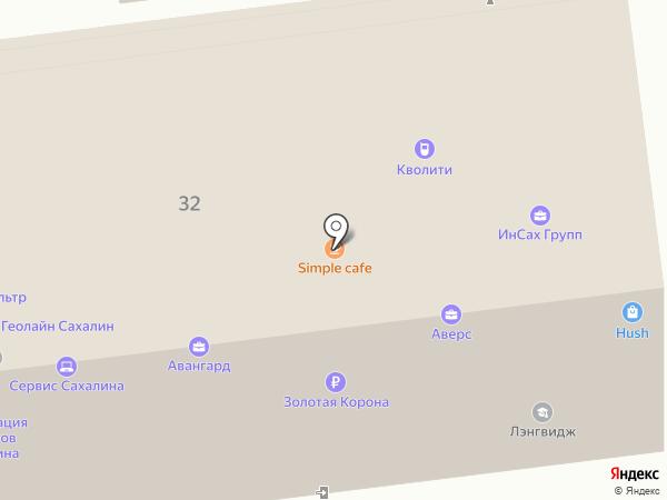 Гаджет Сервис на карте Южно-Сахалинска