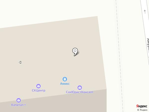 Межрегиональная коллегия адвокатов г. Москвы на карте Южно-Сахалинска
