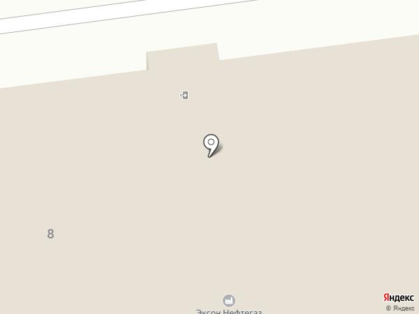 БИНОМ-авто на карте Южно-Сахалинска