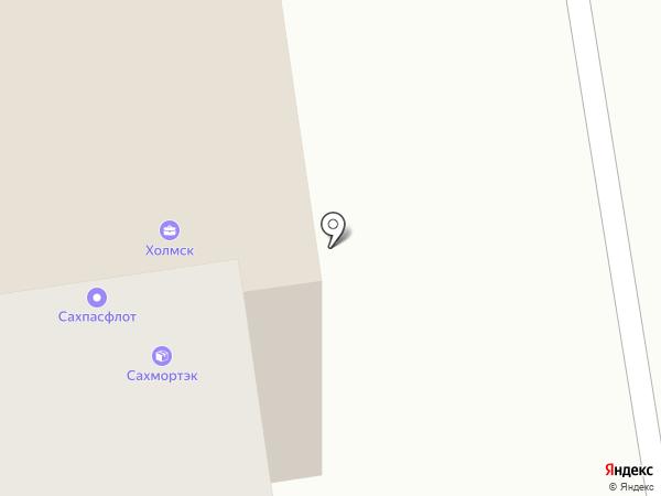 Холмсккомбанк, ЗАО на карте Южно-Сахалинска