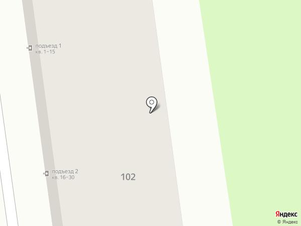 Ньютел Сахалин на карте Южно-Сахалинска