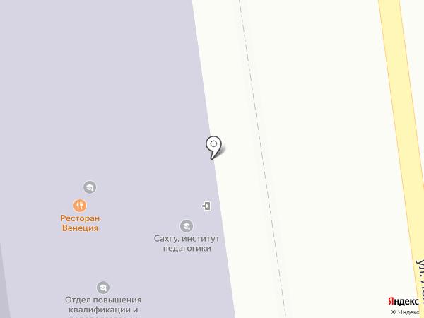 Учебный центр бизнеса на карте Южно-Сахалинска