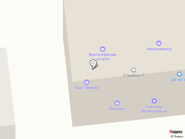 BlackBerry Lounge Restaurant на карте Южно-Сахалинска