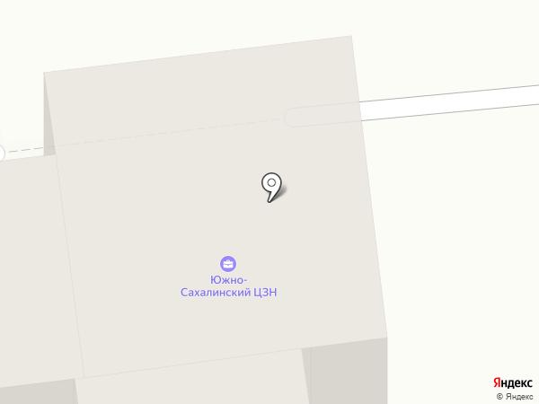 Южно-Сахалинский центр занятости населения на карте Южно-Сахалинска