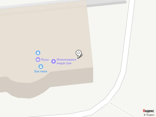 Инжиниринг Индастри на карте Южно-Сахалинска