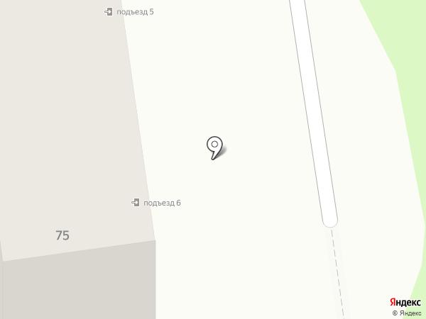 Данко на карте Южно-Сахалинска