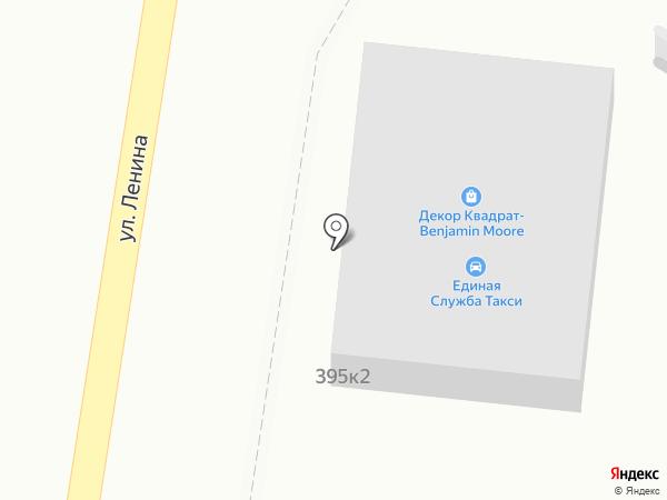 Декор Квадрат на карте Южно-Сахалинска