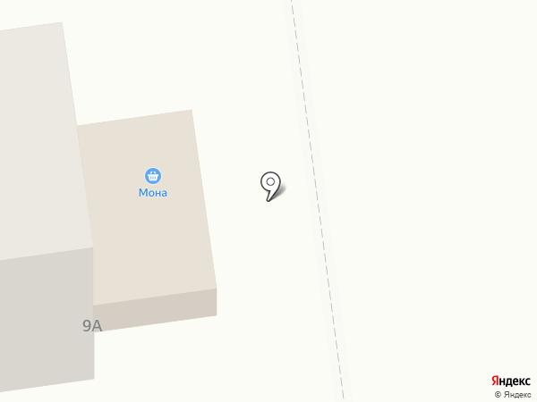 Мона на карте Южно-Сахалинска