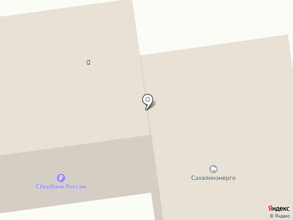 Сахалинэнерго, ПАО на карте Южно-Сахалинска