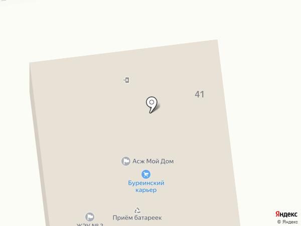 Мой Дом на карте Южно-Сахалинска