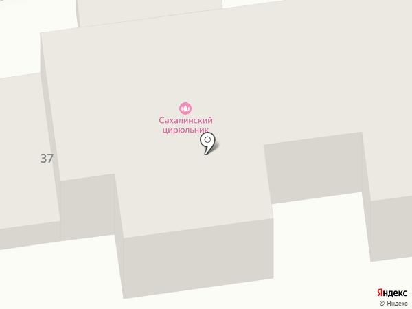 Теремок, ТСЖ на карте Южно-Сахалинска