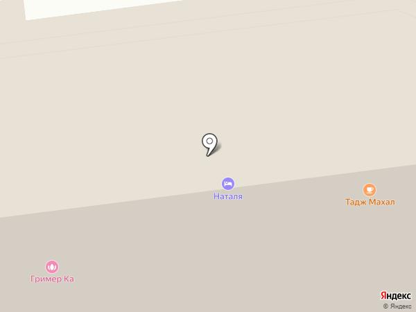 Карт-Пласт на карте Южно-Сахалинска