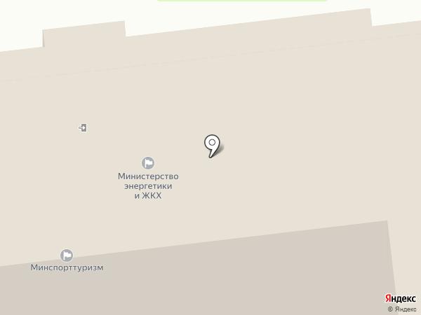 Министерство спорта и молодежной политики на карте Южно-Сахалинска