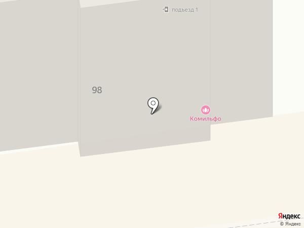 Лайт Фьюче на карте Южно-Сахалинска