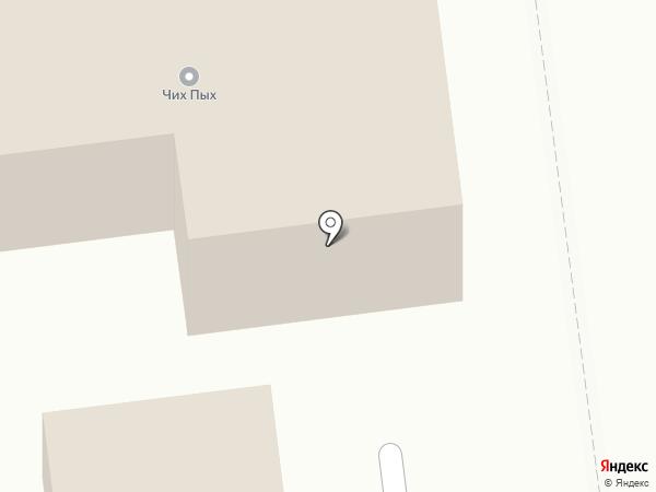 Ресто-плюс на карте Южно-Сахалинска