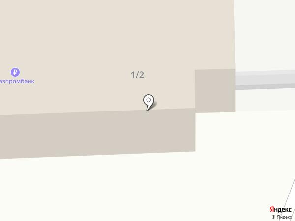 Совхоз Тепличный на карте Южно-Сахалинска