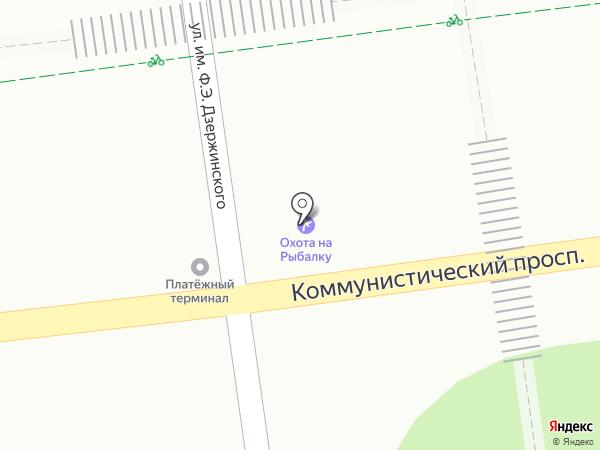 Пионер на карте Южно-Сахалинска