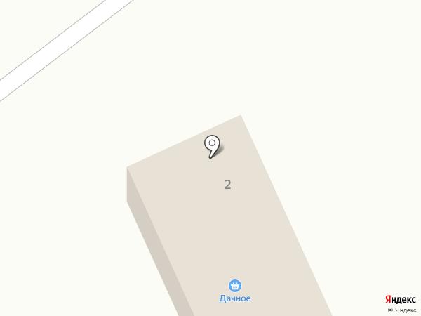 Дачное на карте Дачного