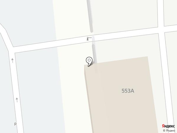 Служба проката автомобилей на карте Южно-Сахалинска