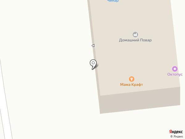 Мама Крафт на карте Южно-Сахалинска