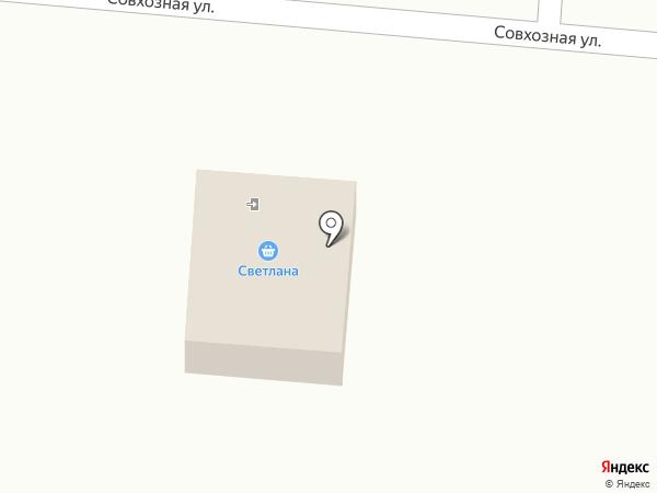 Светлана на карте Сокола