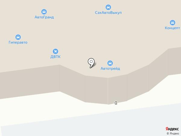 CONCEPT на карте Южно-Сахалинска