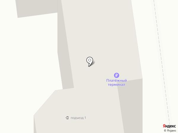Перекрёсток на карте Южно-Сахалинска
