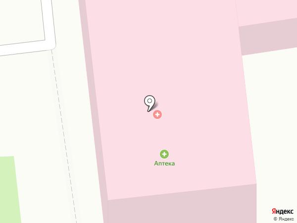 Городская поликлиника №2 на карте Южно-Сахалинска