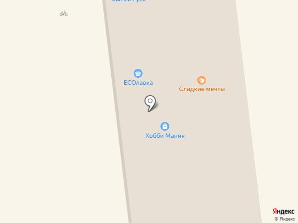 Магазин головных уборов на карте Южно-Сахалинска