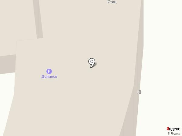 Сакура на карте Южно-Сахалинска