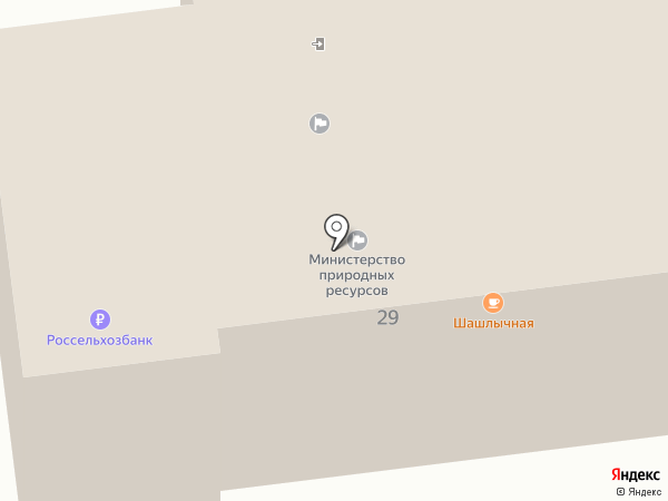 Министерство сельского хозяйства на карте Южно-Сахалинска