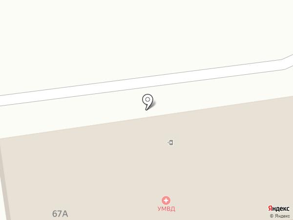 Экспертно-криминалистический центр на карте Южно-Сахалинска
